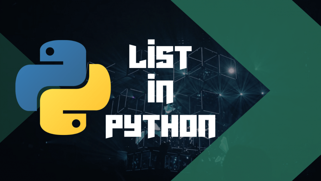 List in Python data structures lionguest studios